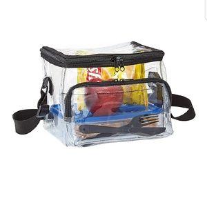 Clear Handbangs & More Bags - Medium Clear Lunch Bag Box Tote